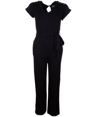 Women's Barbour International Scorpion Jumpsuit - Black