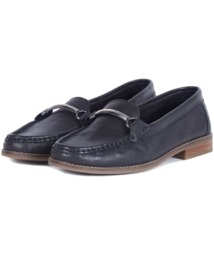 Women's Barbour Elsie Loafers - Black
