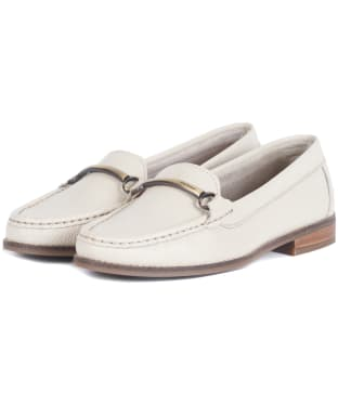 Women's Barbour Elsie Loafers - Off White