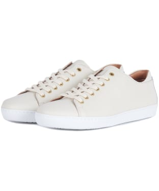 Women's Barbour Hallie Trainers - Cream