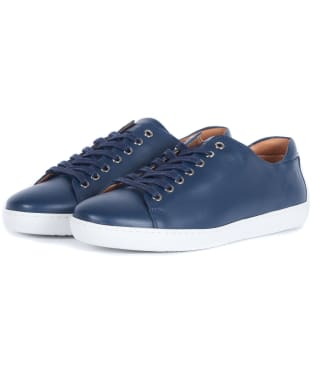 Women's Barbour Hallie Trainers - Navy