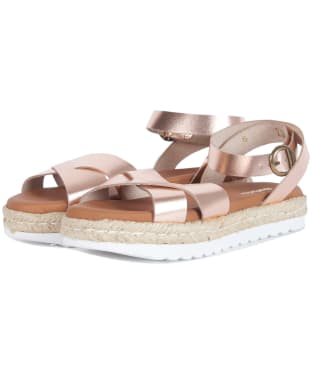 Women's Barbour Esme Sandals - Rose Gold