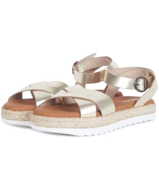Women's Barbour Esme Sandals - Gold