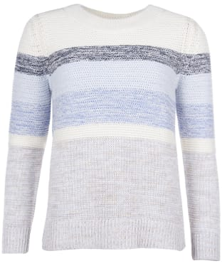 Women's Barbour Seaford Knit Sweater - Pearl Blue