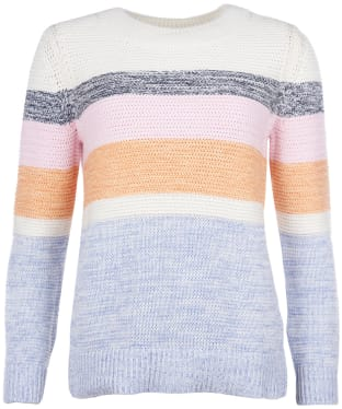 Women's Barbour Seaford Knit Sweater - Off White