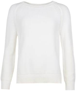 Women's Barbour Shoreline Knit Sweater - Off White