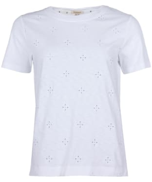 Women's Barbour Mersey Tee - White