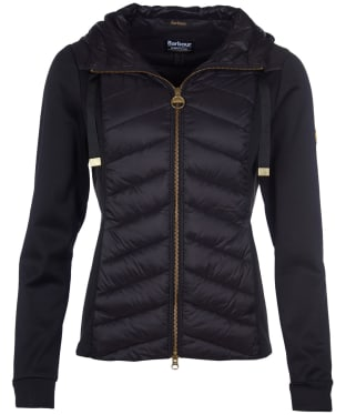 Women's Barbour International Spitfire Sweater - Black