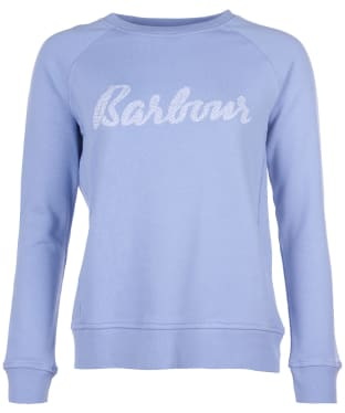 Women's Barbour Otterburn Wave Overlayer - Riviera Blue