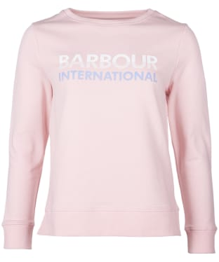 Women's Barbour International Spitfire Overlayer - Pink Salt
