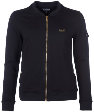 Women's Barbour International Magna Overlayer - Black