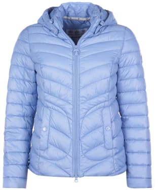 Women's Barbour Fulmar Quilted Jacket - Riviera