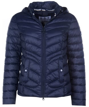 Women's Barbour Fulmar Quilted Jacket - Navy