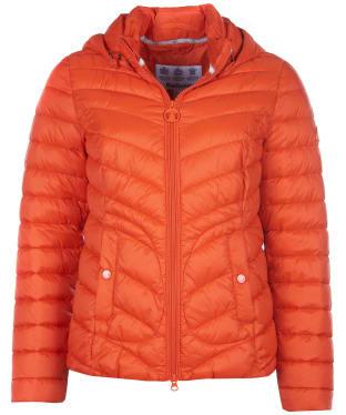 Women's Barbour Fulmar Quilted Jacket - Dark Sunstone