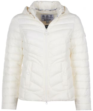 Women's Barbour Fulmar Quilted Jacket - Cloud