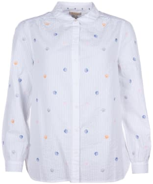 Women's Barbour Seaford Shirt - White