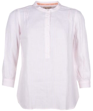 Women's Barbour Dover Shirt - Pink Sur Stripe