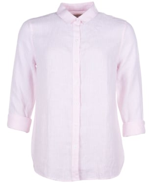 Women's Barbour Marine Shirt - Pale Pink