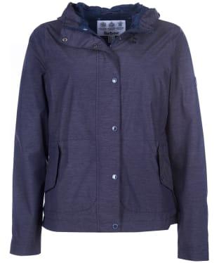 Women's Barbour Sooty Waterproof Jacket - Navy Marl