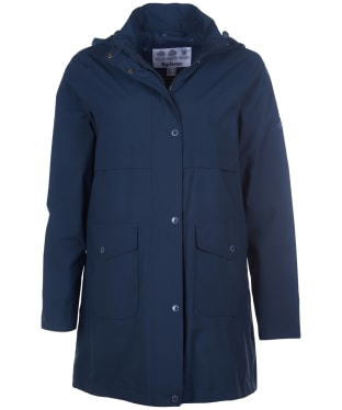Women's Barbour Laysan Waterproof Jacket - Navy