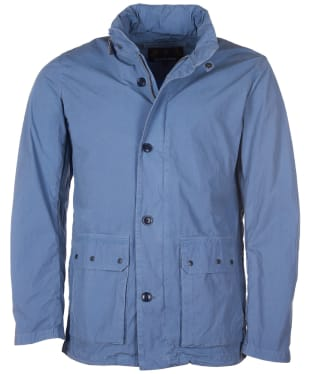 Men's Barbour Grent Casual Lightweight Jacket - Dark Chambray