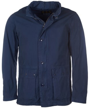 Men's Barbour Grent Casual Lightweight Jacket - Navy