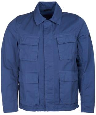 Men's Barbour International Dion Casual Jacket - Blue Metal
