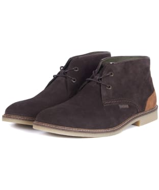 Men's Barbour Kalahari Desert Boots - New Choco Suede