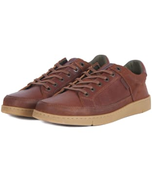 Men's Barbour Bilby Trainers - Cognac Texas