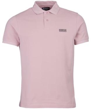 Men's Barbour International Essential Polo - Dusk Pink