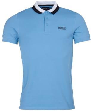 Men's Barbour International Ampere Polo - Cool Blue