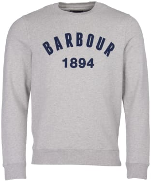 Men's Barbour Dylan Crew Sweater - Grey Marl