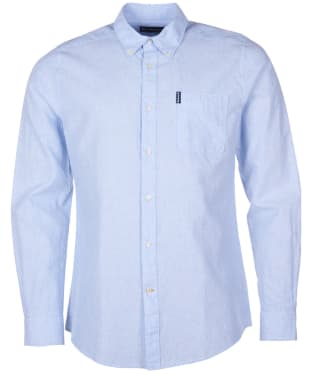 Men's Barbour Seaton Shirt - Sky