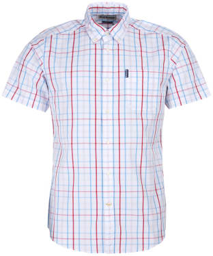 Men's Barbour Tattersall 18 S/S Tailored Shirt