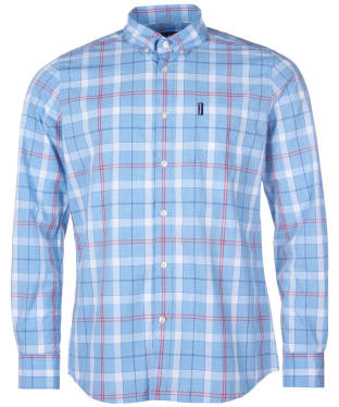 Men's Barbour Cove Shirt - Sky Check