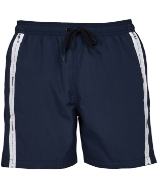 Men's Barbour International Stripe Swim Shorts - Navy