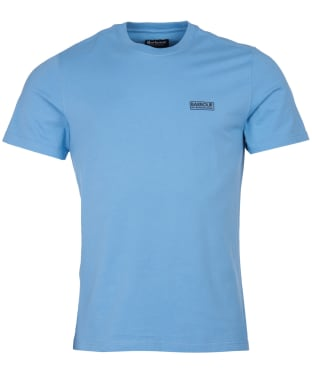 Men's Barbour International Small Logo Tee - Cool Blue