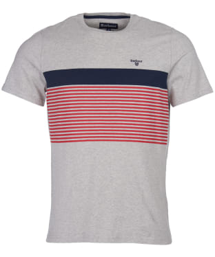 Men's Barbour Braeside Tee - Grey Marl