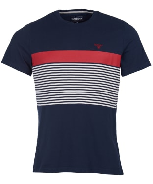 Men's Barbour Braeside Tee - Navy