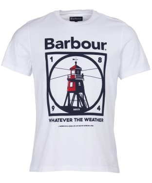 Men's Barbour Tarbert Tee - White