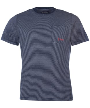 Men's Barbour Creswell Pocket Tee - Navy