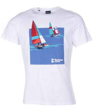 Men's Barbour Seaton Tee - White
