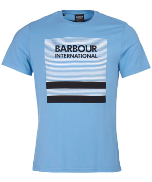 Men's Barbour International Control Tee - Cool Blue