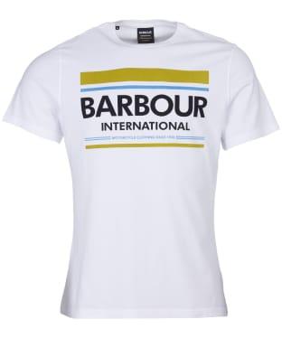 Men's Barbour International Control Tee - White