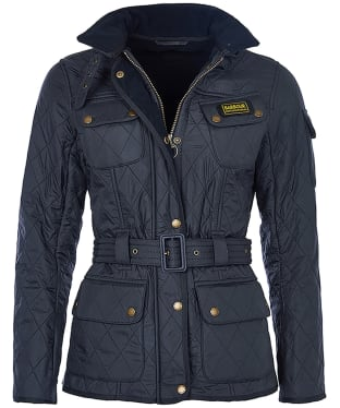 Women's Barbour International Polarquilt - Navy