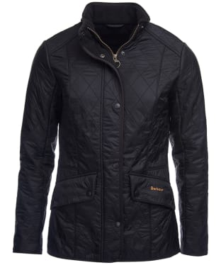 Women's Barbour Cavalry Polarquilt Jacket - Black