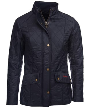 Women's Barbour Cavalry Polarquilt Jacket - Navy