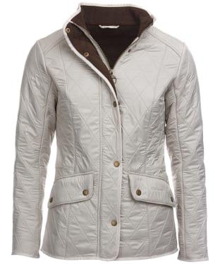 Women's Barbour Cavalry Polarquilt Jacket - Pearl