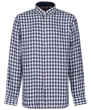 Men's Schöffel Sandbanks Linen Check Shirt