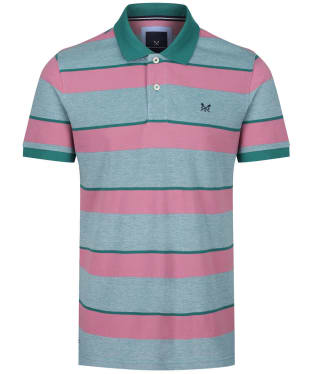 Men's Crew Clothing Oxford Polo Shirt - Dusty Rose